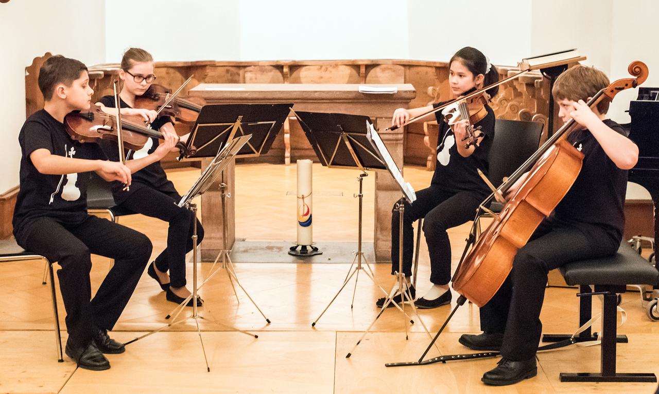 Jugendkonzert vom 26. März 2011 in der Dorfkirche Kleinhüningen