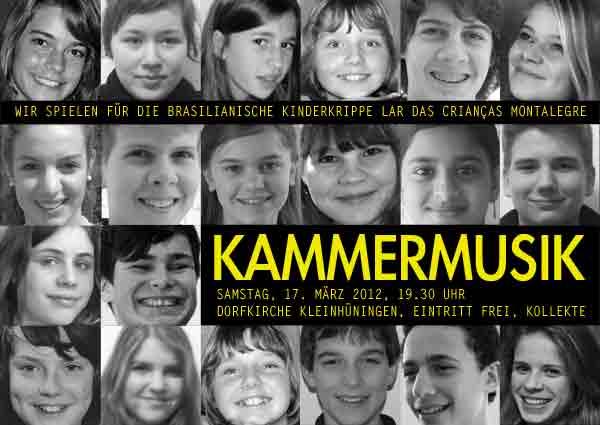 Jugendkonzert vom 17. März 2012 in der Dorfkirche Kleinhüningen