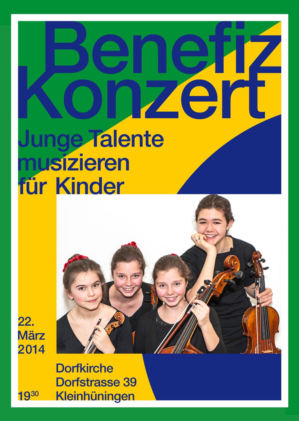 Junge Talente musizieren für Kinder, 22. März 2014