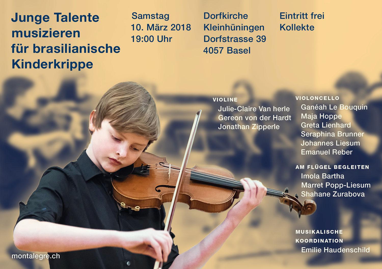 Benefizkonzert Junge Talente 2018
