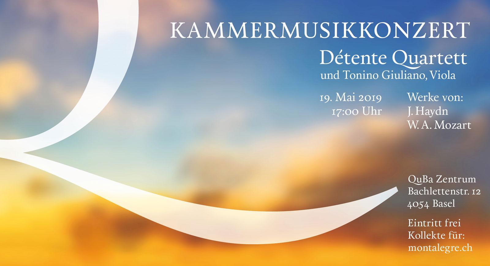 Kammerkonzert Détente Quartett